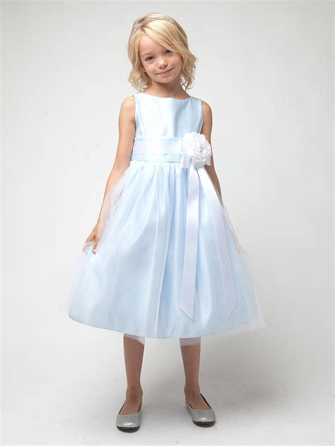 light blue satin dress light blue vintage satin tulle dress