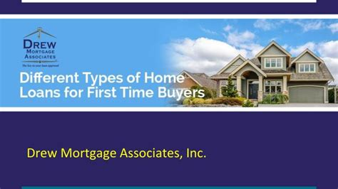 ppt different types of home loans for time buyers