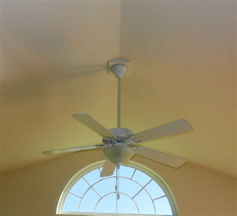ceiling fans for cathedral ceilings cathedral ceiling fan mount placement guide lighting