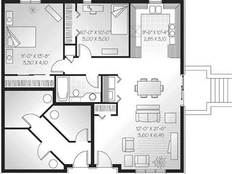 multi family house plans triplex mountlake terrace triplex home plan 032d 0060 house
