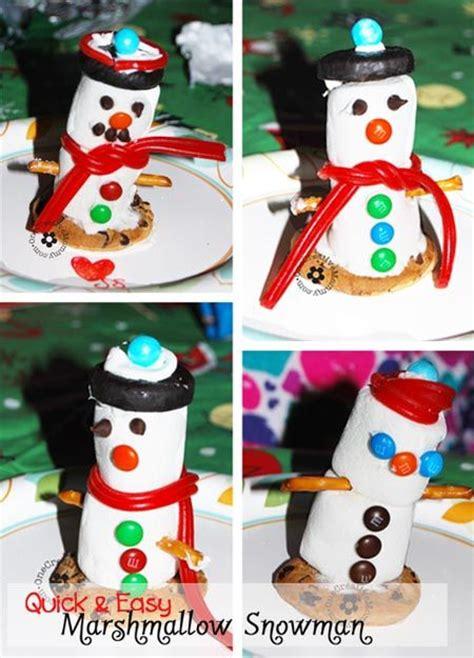easy crafts for marshmallow snowmen 25 best ideas about marshmallow snowman on