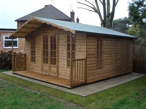 Summerhouse Shed by Petersham Mb Garden Building