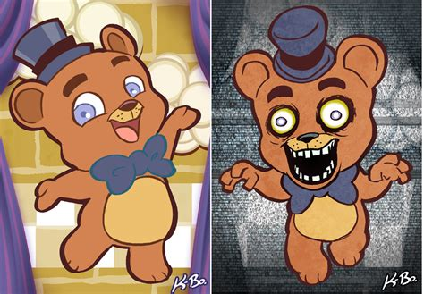 Five Nights At Freddy S Art Card 1 Freddy Fazbear By Five Nights At Freddys Coloring Book L