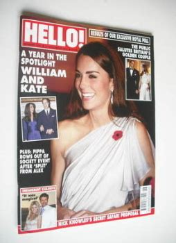 Kate In Magazine I Am A Bit Wacky by Hello Magazine Back Issues Vintage Hello Magazines For