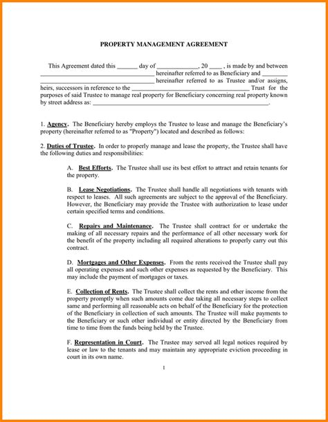property management agreement template uk property management agreement 39226386 png letterhead
