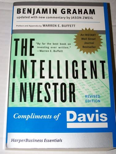 intelligent investor the definitive 0060555661 the intelligent investor the definitive book on value investing a book of practical counsel