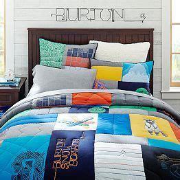 burton bedding burton graphic tee quilt sham burton collection