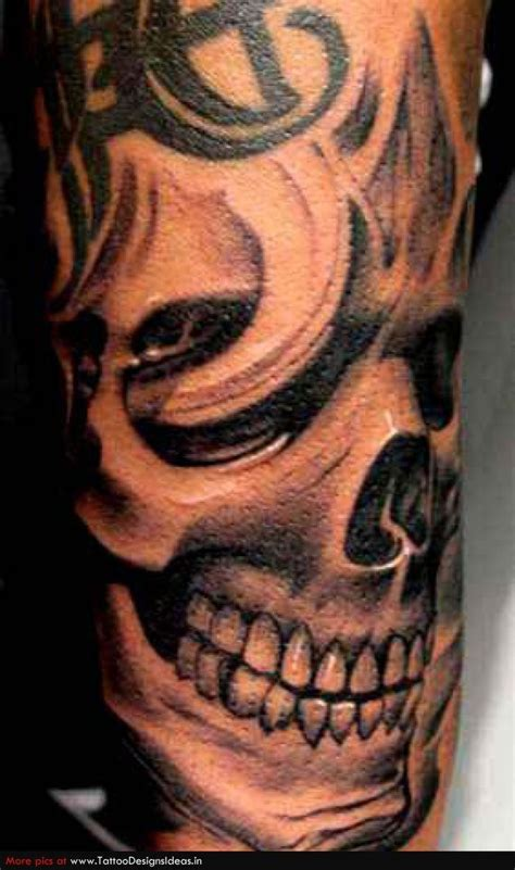 skull sleeve tattoo designs skull tattoos stuff to buy