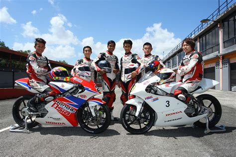 test moto3 moto 3 test completed by adc riders malaysian riders