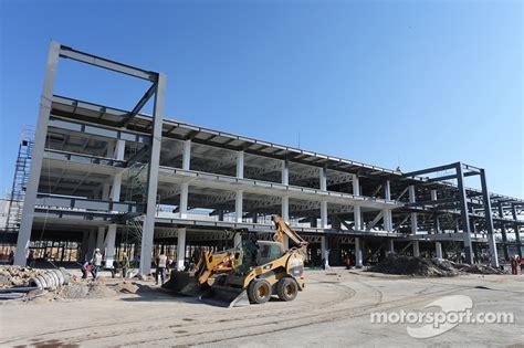pit construction pit building construction at autodromo hermanos rodriguez