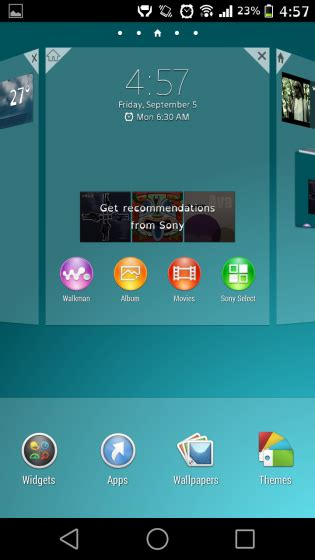 xperia home launcher apk xperia z3 home launcher 7 0 a 0 14 ported to xperia handsets xperia