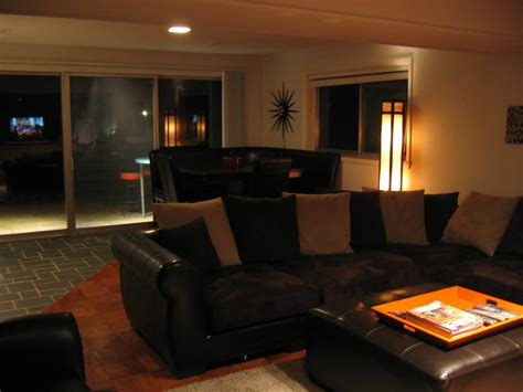 The Living Room Nightclub - mid century modern home for sale in indianapolis indiana