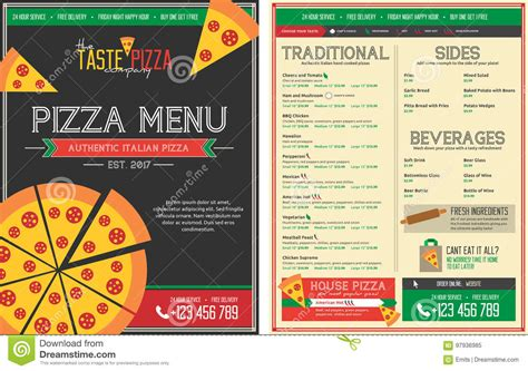 free menu templates download free menu template free editable