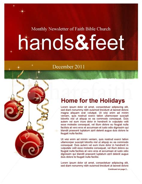christmas newsletter templates for pages merry christmas newsletter template page 1
