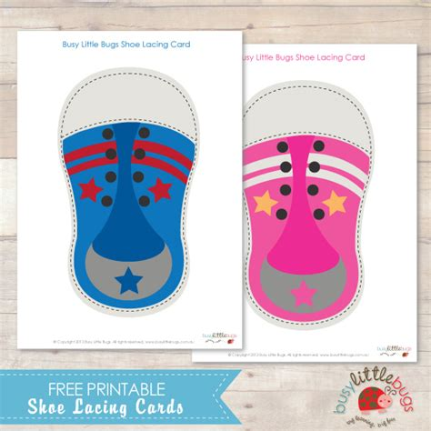 Shoes Com Gift Card - freebie friday shoe lacing cards busy little bugs