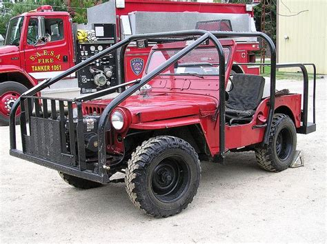295 Best Images About Willys Jeep Fire Trucks On Pinterest