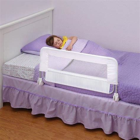 Safe Crib Bedding Dexbaby Safe Sleeper Bed Rail 43x20
