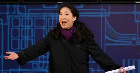 asian actress nominated for emmy sandra oh historical nomination at the emmys for lead