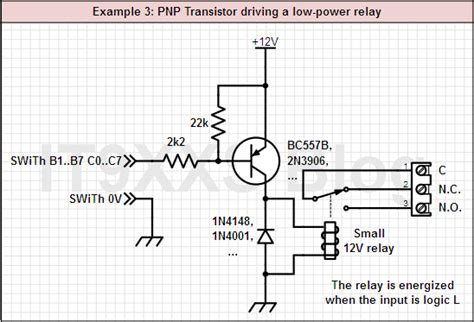 pnp transistor relay driver 555 relay driver circuit follow up modification of original post askelectronics