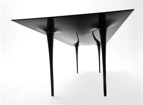 Carbon Fiber Table by Stealth The Carbon Fiber Table That Seats 12 Carbon