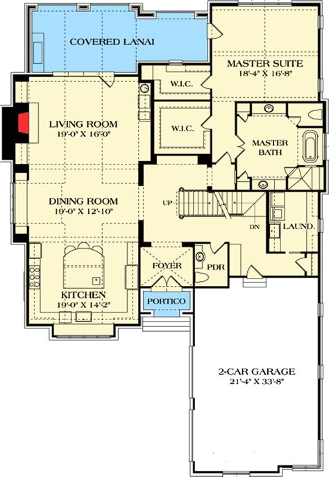 master bedroom upstairs floor plans plan 17801lv stunning open floor plan upstairs