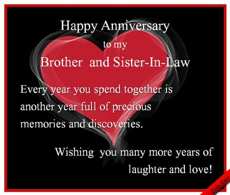 #Anniversary #Brother #SisterInLaw www.123greetings.com