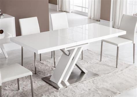 Pied De Table Moderne by Acheter Votre Table Moderne Pied Central Croix Laqu 233 E