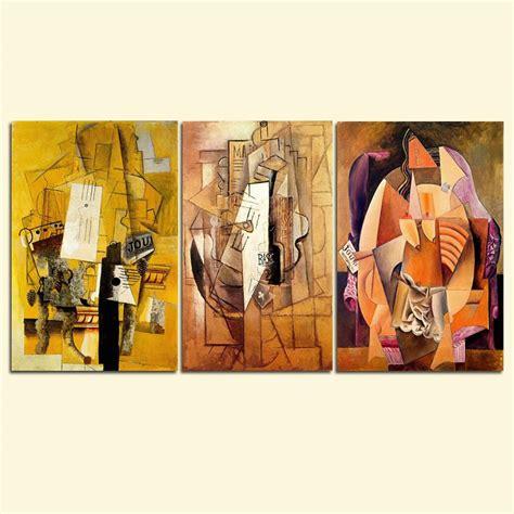 New Lukisan Hiasan Dinding Kantor Rumah Set Abstrak 23786 kubisme promotion shop for promotional kubisme on