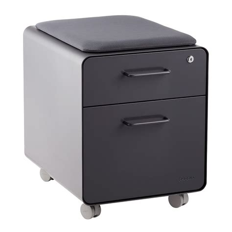 dark grey filing cabinet poppin dark grey mini 2 drawer stow filing cabinet with