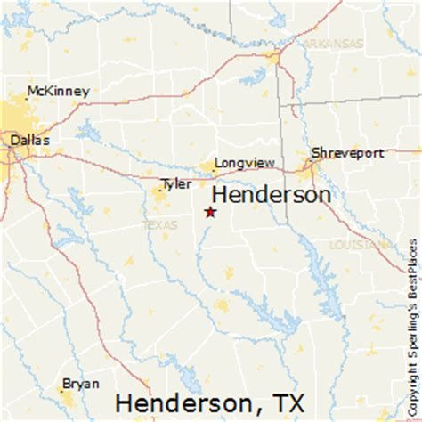 henderson texas map best places to live in henderson texas