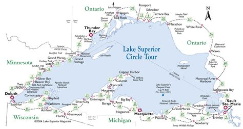 lake superior map understanding global cultures of minnesota duluth