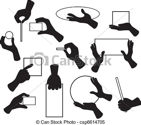 clipart mano clipart vectorial de conjunto mano caricatura