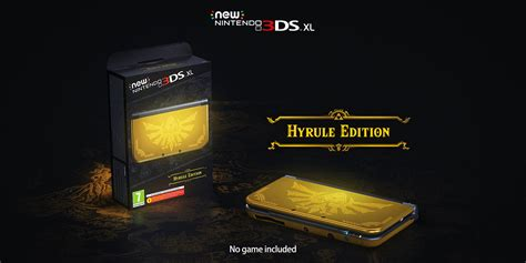 Nintendo Switch Emblem Warriors Special Edition Eu new 3ds xl hyrule edition announced for europe gematsu
