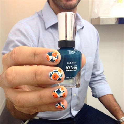 men getting nails polish at salon 342 best men who paint their nails images on pinterest