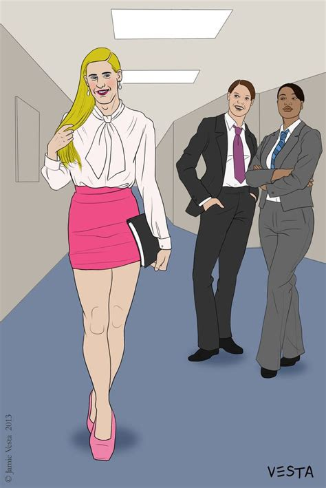 role reversal gender secretary the secretary by eves rib on deviantart cd toons