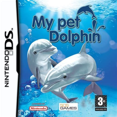 emuparadise dolphin my pet dolphin box shot for ds gamefaqs