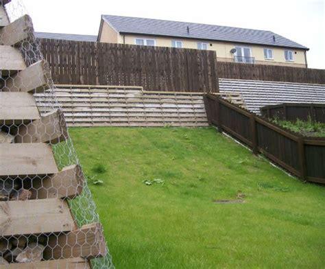 Timber Crib Retaining Wall by Timbalok Timber Crib Retaining Wall Ruthin Precast