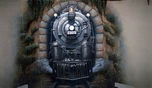 train murals for walls creative painting solutions