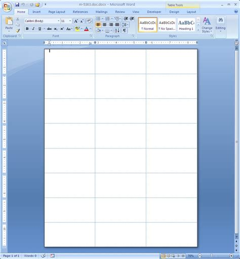 Microsoft Word 2007 Macolabels Com Microsoft Word Sticker Label Template