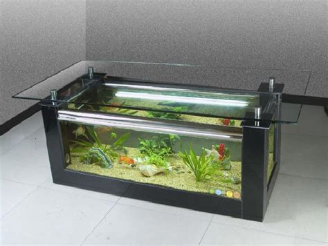 beautiful coffee table aquariums corner