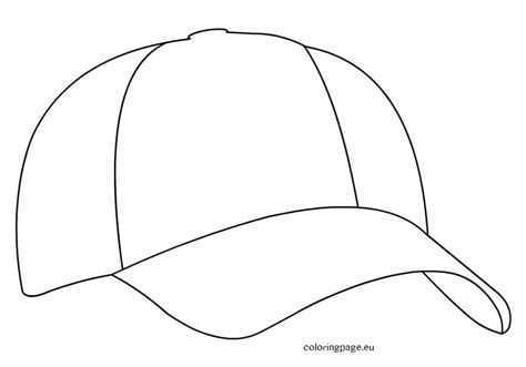 printable hat coloring page stocking hat coloring printables baseball cap page grig3 org