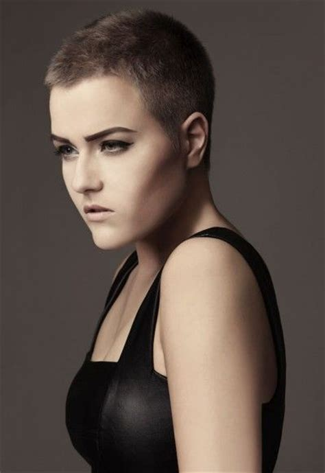 female crew cut hairstyles the power woman by marleen schumacher best of the buzz