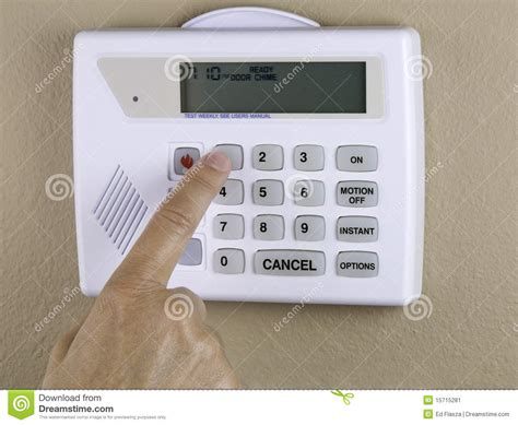 home security stock image image 15715281