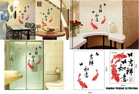 Sticker Kaca Dinding Wallpaper by Jual Sticker Kaca Dan Dinding Wallpaper Ikan Koi Felix