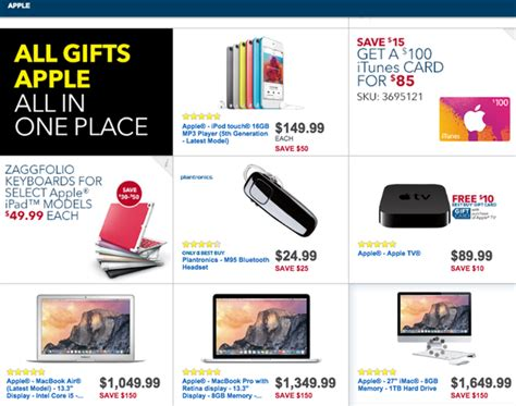 best buy discounting ipads iphones macs and more for black friday macrumors