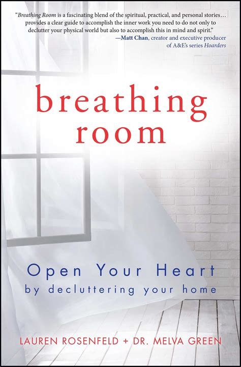 the breathing room breathing room book by melva green rosenfeld official publisher page simon schuster
