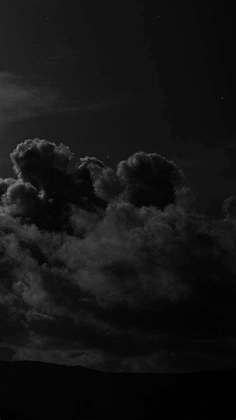iphone dark sky clouds night mysterious creepy