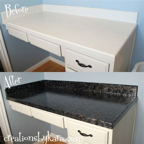 Diy Faux Granite Countertops With Giani Diy Kitchen Countertops