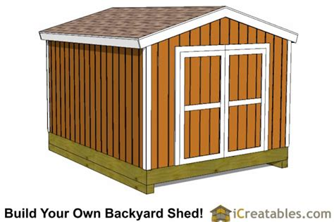 gable shed plans icreatables sheds