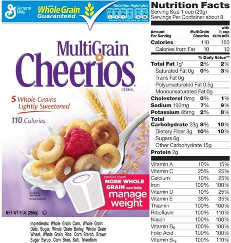 whole grains nutritional value whole grain cheerios nutrition nutrition ftempo